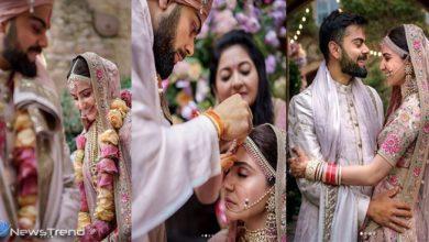 कल अनुष्का शर्मा और विराट कोहली की शादी को एक साल हो गए. पिछले साल 11 दिसंबर को दोनों शादी के पवित्र बंधन में बंधे थे. 21 दिसंबर को अनुष्का और विराट..