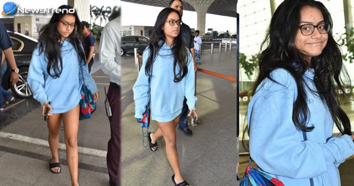 नये लुक में ट्रोल हुई अजय देवगन की बेटी न्यासा, यूजर्स बोलें 'ये कौन सा नया फैशन है?'