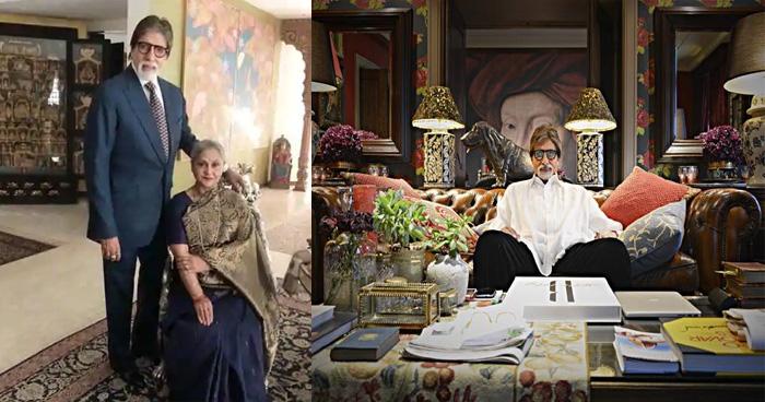 """160 करोड़ रुपए के बंगले के मालिक हैं """"बिग बी"""",  तस्वीरों में देखिए लग्ज़री का आलम"""