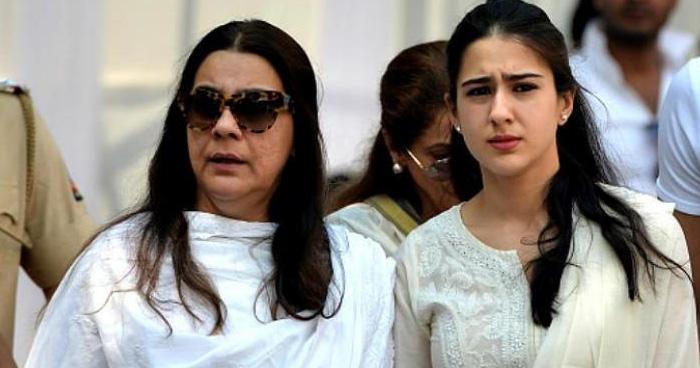 मुश्किलों में घिरी सारा अली खान और मां अमृता सिंह, इस वजह से देर रात जाना पड़ा पुलिस स्टेशन