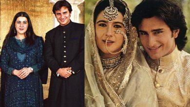 Photo of सैफ अली खान ने करीना से शादी के दिन अपनी पहली बीवी अमृता सिंह को लिखा था एक ख़ास चिट्ठी