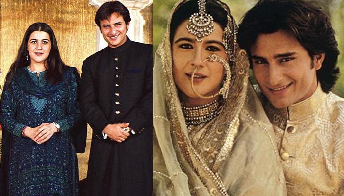 सैफ अली खान ने करीना से शादी के दिन अपनी पहली बीवी अमृता सिंह को लिखा था एक ख़ास चिट्ठी