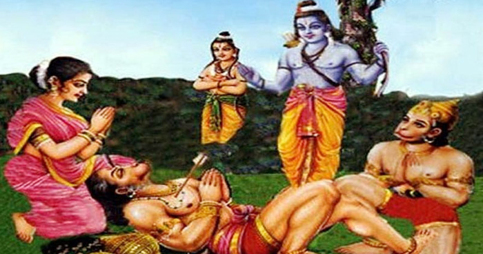 पेड़ के पीछे से राम ने किया था बालि का वध, जानें बालि ने कैसे लिया अपने मौत का बदला