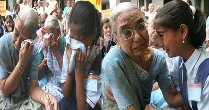 11 साल बाद दादी-पोती की मुलाकात की इमोशनल तस्वीर हुई वायरल, पीछे की कहानी जानकार आप..