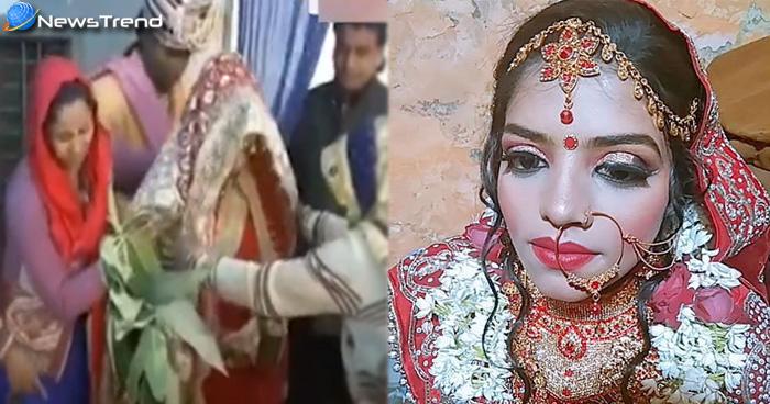 जयमाला के लिए स्टेज पर जा रही दुल्हन के कदम लड़खड़ाए, दुल्हा ने कहा- 'इसे तो गोली लगी है जल्दी'