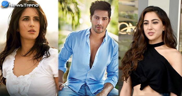 आने वाली  फिल्म एबीसीडी ३ में कैटरीना को रिप्लेस कर वरुण धवन के साथ नजर आ सकती हैं सारा अली खान