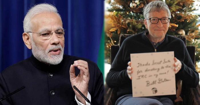 प्रधानमंत्री मोदी की आयुष्मान योजना के मुरीद हुए बिल गेट्स, ट्वीट कर कही ये बात