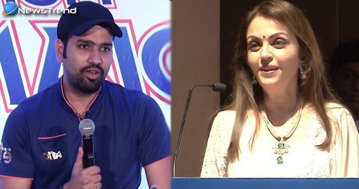 रोहित शर्मा ने ठुकराया नीता अंबानी का 20 करोड़ का ऑफर, क्या अब मुंबई इंडियंस की तरफ से नहीं खेलेंगे रोहित ?