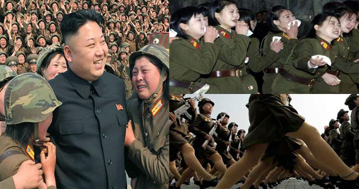 नार्थ कोरिया की महिला सैनिकों के साथ होता है जानवरों जैसा बर्ताव, नर्क सा जीवन है नार्थ कोरिया  - शब्द (shabd.in)