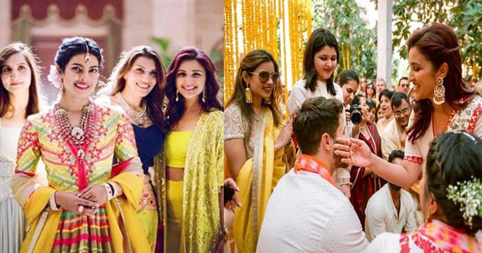 Unseen Photos: परिणीती ने शेयर की 'निकयांका' की शादी की तस्वीरें, ऐसे लगा रही थीं जीजू को हल्दी