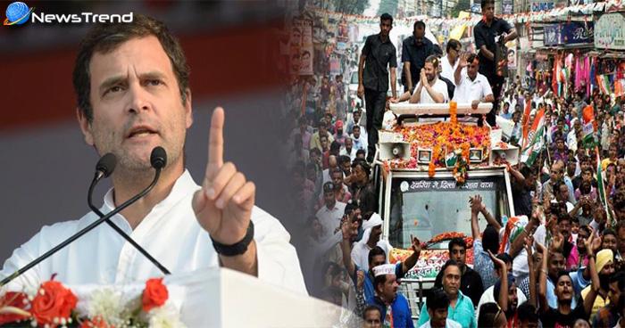 राहुल गांधी का गरीबों पर वादा, कांग्रेस की सरकार बनती है तो हर गरीब के खाते में आएंगे पैसे