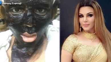 Photo of राखी के चेहरे पर पुता गोबर, दीपक कलाल को बताया अपना भाई, वीडियो वायरल