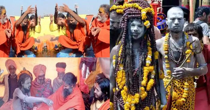 नागा साधुओं के सामने बाबा रामेदव ने फैलाई झोली, बोलें 'मुझे आपकी ये खास चीज़….'