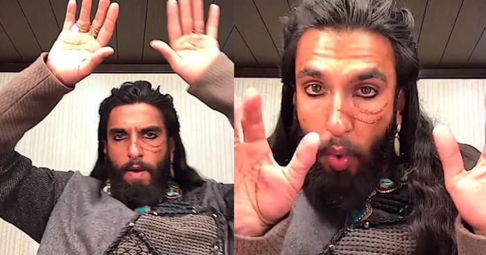 Viral Video: आखिर क्यों 'अलाउद्दीन खिलजी' बने रणवीर सिंह, एक बार फिर खुंखार लुक में आये नजर