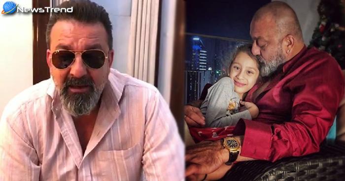 संजय दत्त ने बेटी के साथ तस्वीर की पोस्ट तो बन गया मजाक, फैंस ने निकाला गुस्सा