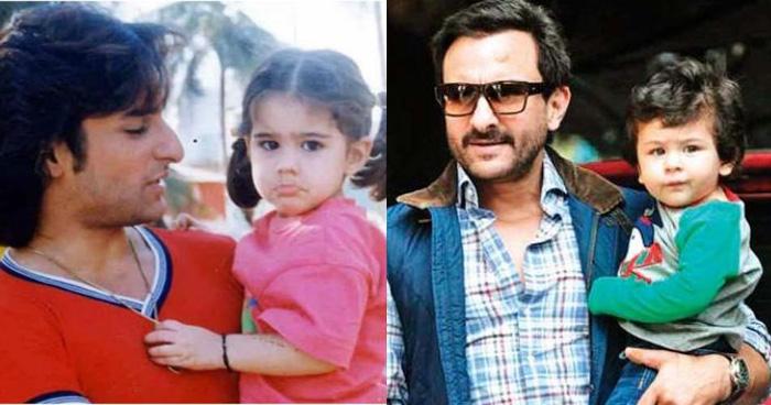 बचपन में तैमूर से ज्यादा क्यूट दिखती थी सारा अली खान, पहली बार सामने आईं तस्वीरें-देखिए