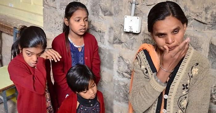 3 बेटियों संग कलेक्टर को अपना दर्द बताकर रोने लगी महिला, कहा-मदद कीजिए साहब, नहीं तो…