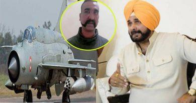भारतीय पॉयलट के पाकिस्तानी फौज के हिरासत में होने पर आया सिद्धू का बयान, जानें क्या कहा