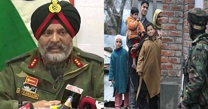 जनरल ने दी कश्मीर की माओं को चुनौती, कहा- अपने बेटों से आतंक का रास्ता छोड़ने को कहें नहीं तो