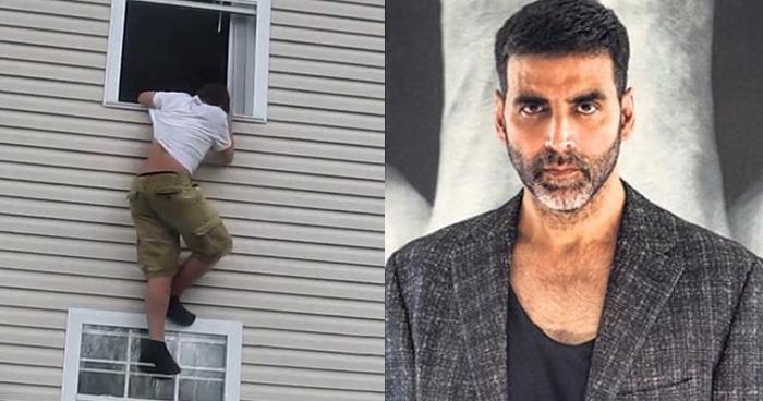 जब अक्षय कुमार के घर में अचानक छलांग लगाकर पहुंचा ये शख्स, पुलिस आई तो पता चला की....