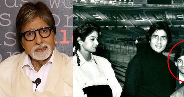 अमिताभ और श्रीदेवी की ये फोटो देखकर इमोशनल हो गए लोग, बच्चों जैसे नजर आये सलमान-आमिर