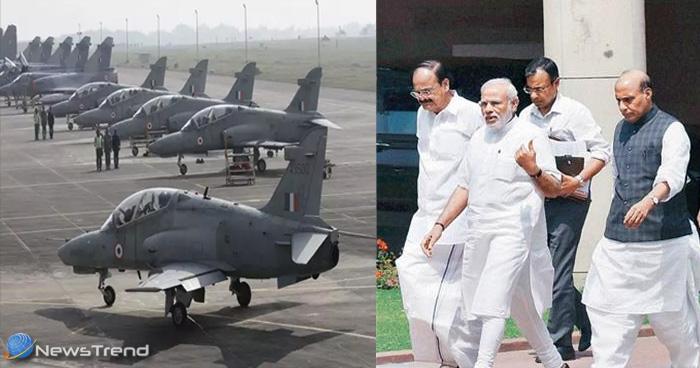दिल्ली में PM मोदी कर रहे हैं हाई लेवल की बैठक, लड़ाकू विमानों को तैयार रहने का मिला आदेश