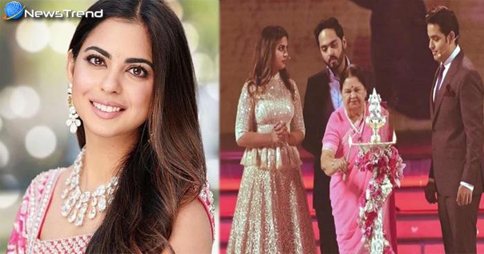 मुकेश अंबानी की बेटी ईशा ने शादी को लेकर किया खुलासा, कहा- 'इस मजबूरी के कारण विदाई में रोई थी'