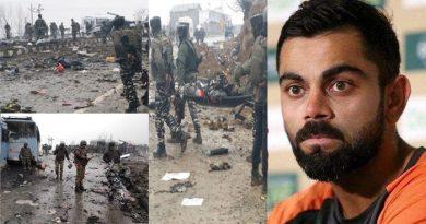 पुलवामा हमले के बाद विराट कोहली की Tweet से भड़के लोग, देखें यूजर्स का रिएक्शन