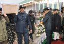 जब सीआरपीएफ शहीदों के पार्थिव शरीर को लड़खड़ाते कदमों से राजनाथ सिंह ने दी विदाई