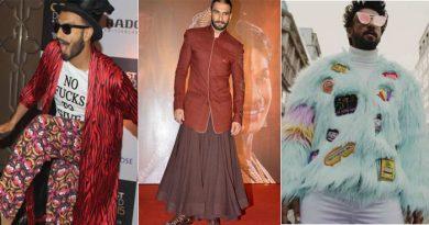 कभी टाइगर तो कभी लांग स्कर्ट, रणवीर सिंह के अजीबो गरीब कपड़ें पहनने की ये है असल वजह