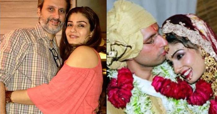 Photo of रवीना ने शेयर की अपनी शादी की अनदेखी तस्वीरें, एनिवर्सरी पर पति को किया खास अंदाज में विश