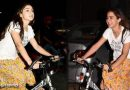 आधी रात मुंबई की सड़कों पर साइकिल चलाती नजर आई ये फेमस एक्ट्रेस, देखिए दिलचस्प Video