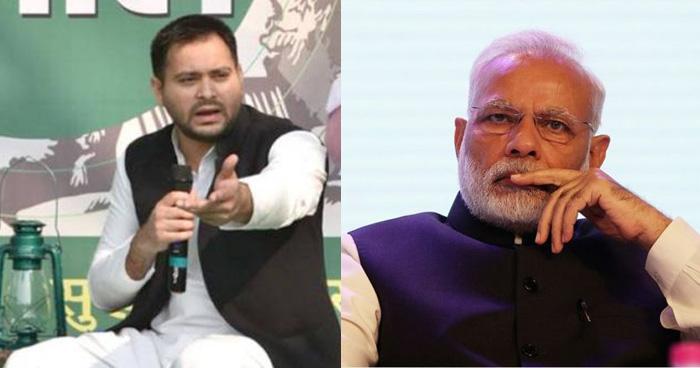 तेजस्वी यादव: PM मोदी तो स्मार्ट सेल्समैन है, ये तो गंजों को भी कंघे बेच सकते हैं!