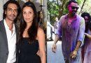 पत्नी से तलाक के बाद गर्लफ्रेंड संग अर्जुन रामपाल ने खेली होली, वारयल हुई तस्वीरें