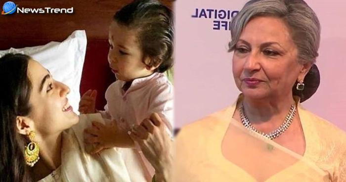 Photo of शर्मीला टैगोर ने अपनी नातिन सारा अली खान से सीखी है ये बात, अब तैमूर के साथ कर रही हैं वहीं काम