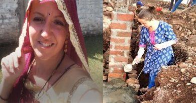 पेरिस की लड़की को भारतीय लड़के से हुआ प्यार, अब गांव में ऐसे बिता रही हैं अपना जीवन