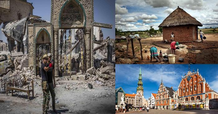 कभी अमीर हुआ करते थे ये देश, आज चरमराई अर्थव्यवस्था के चलते गरीब देशों में होती है गिनती