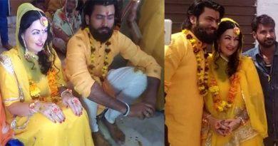 रूस की गोरी मेम को हुआ पोकरण के छोरे से प्यार, सात समंदर पार आकर भारतीय रीती-रिवाज से की शादी