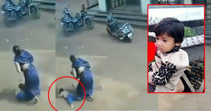 Photo of Video: दो साल के मासूम ने मौत को दिया चकमा, तीसरी मंजिल से गिरने के बावजूद नहीं आई एक भी खरोंच