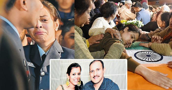 Photo of पत्नी कर रही थी सरहद पर जाने की तैयारी…तभी आ गयी पति के मौत की खबर, 3 बहनों में थे इकलौते भाई