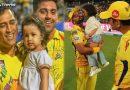 IPL: CSK के जीत के बाद फील्ड पर पहुंची जीवा, इमरान को दिया अवॉर्ड और सुरैश रैना को दी किस