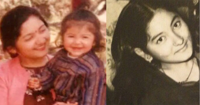 सामने आई इस खूबसूरत एक्ट्रेस की बचपन की तस्वीर, मां से मिलती है शक्ल, दिखती थी बेहद क्यूट