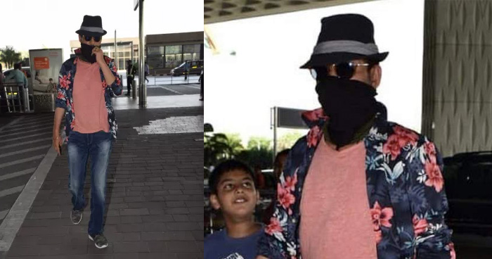 Photos: कैंसर को हराकर वापस भारत लौटे इरफान खान, पहली बार मीडिया को कुछ इस अंदाज में दिया पोज