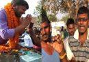 माला पहनाकर ग्रामीणों ने किया कन्हैया कुमार का स्वागत और फिर बोलें 'वोट तो मोदीजी को ही देंगे'