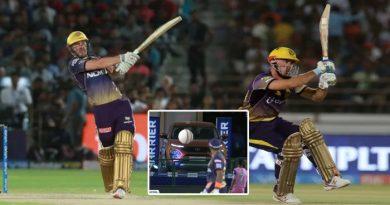 IPL 2019: टाटा हैरियर पर जा गिरा क्रिस लिन का गगनचुंबी छक्का, देखिए क्या हो गई हालात