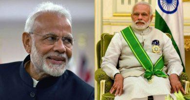 इस मुस्लिम देश ने दिया पीएम मोदी को सबसे से बड़ा सम्मान