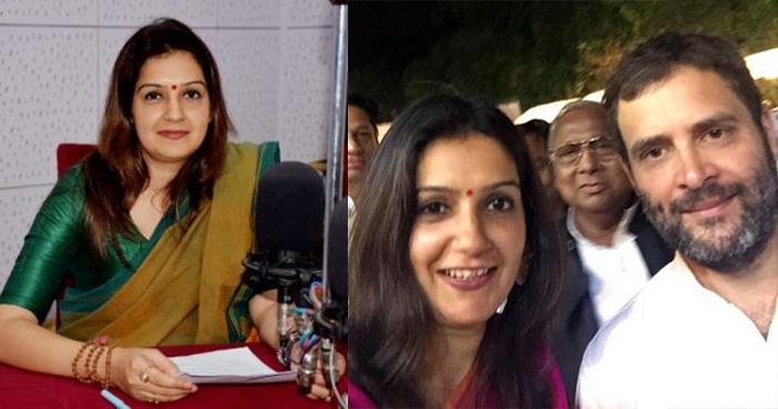 चुनावी समर में प्रियंका ने छोड़ी कांग्रेस, बोलीं 'जिसके लिए पत्थर-गालियां खाई, उसी ने मुझे...'