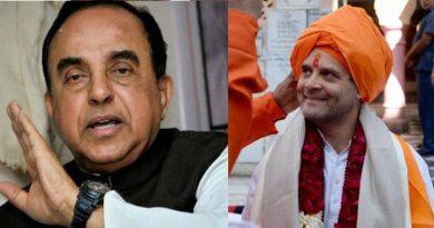 राहुल गांधी पर सुब्रमण्यम स्वामी का 4 बड़ा खुलासा, बोलें 'न नाम असली, न धर्म और पासपोर्ट तो 4..'