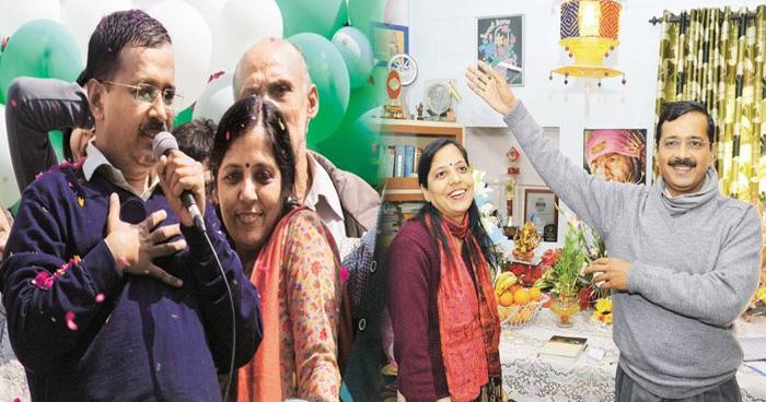 Photo of दिल्ली के सीएम अरविंद केजरीवाल की लव स्टोरी है बेहद फिल्मी, ऐसे किया था पत्नी सुनीता को प्रपोज
