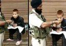 कश्मीर के दिव्यांग बच्चे को अपने हाथों से खाना खिलाते नज़र आया CRPF जवान, देखे विडियो